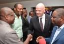 Bénin : le président de la fifa, Gianni infantino en visite de travail
