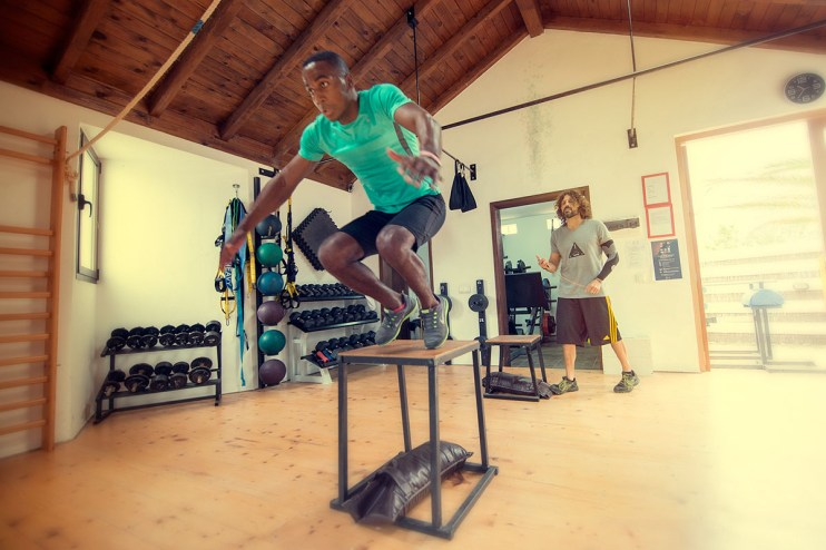 Elite Surf functional training class