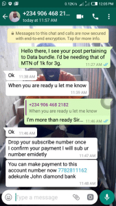 Data SME Seller Scammers