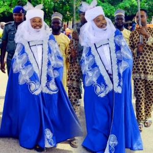 Oluwo of Iwo Land TELU 1 dress turbaned