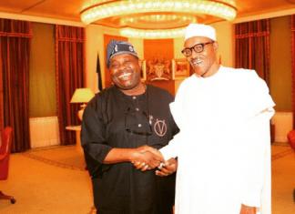 Dele Momodu and President Buhari