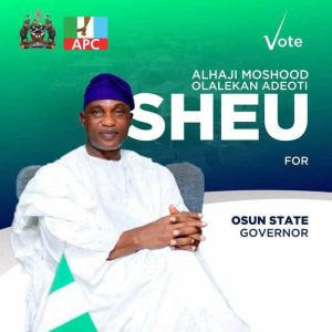 Alh Moshood Adeoti For Governor