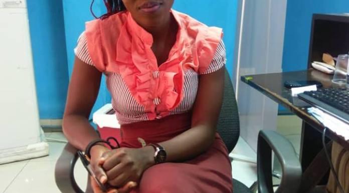 Adesewa Adebukola first model