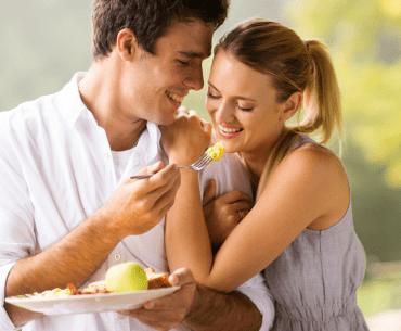 man loves wife