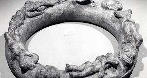 A 16th Century Ilé-Ifè (Nigeria) Brass/Copper Alloy Altar Ring