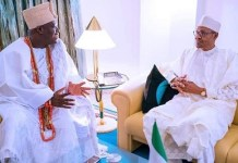 Ooni of Ife and President Buhari