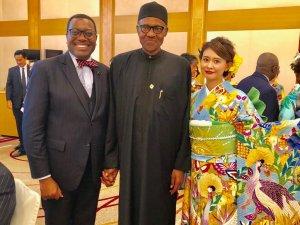 Akinwumi Adesina and Muhammad Buhari
