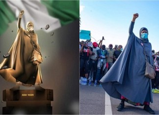Nigeria Statute of Liberty: Who is Aisha Yesufu?