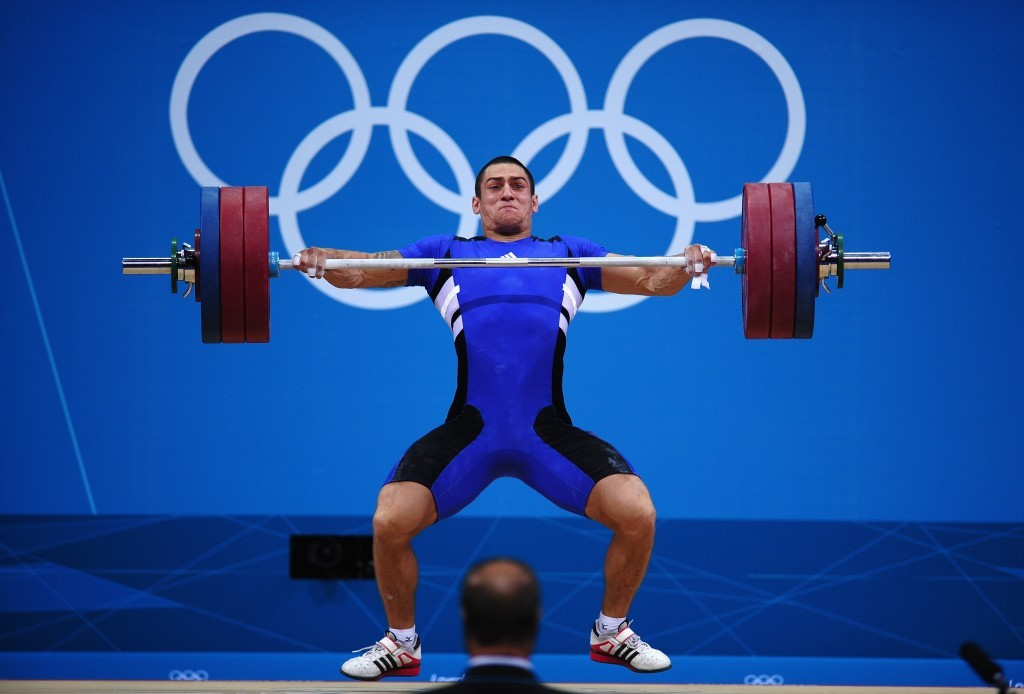 Weight Lifting Olympics 1976