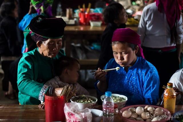 At the market somewhere in far Northern Vietnam