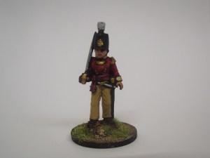 British Line officer
