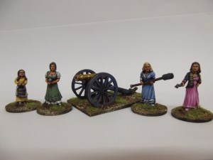 British gun crew