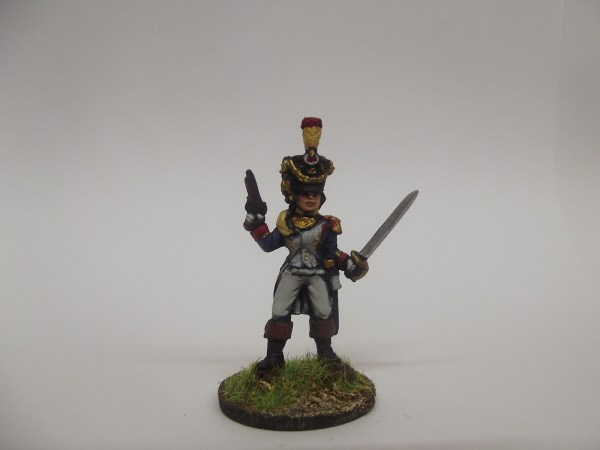 French voltigeur officer