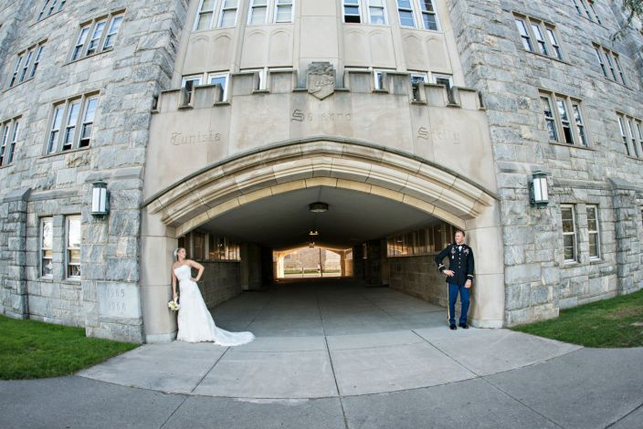 Katie and Tyson at West Point