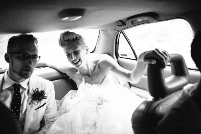 Matt & Heather in the car