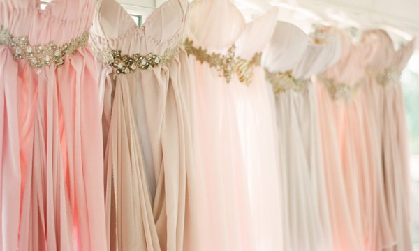 Pastel-Pink-Bridesmaids-Dresses | Elite Weddings