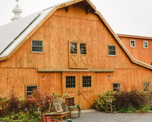 barn and farm wedding venues