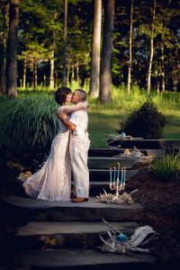 bride and groom - winding hills golf club