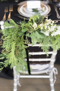 chair decor -roundhouse wedding