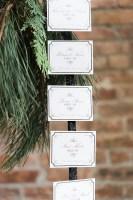 escort card idea - roundhouse beacon ny wedding