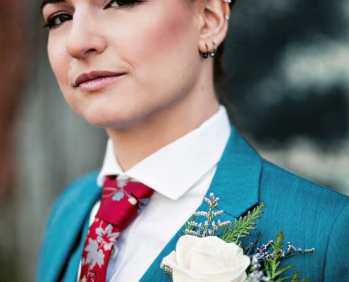 bride - same sex wedding