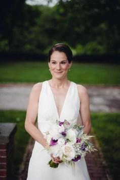 bride - boscobel wedding