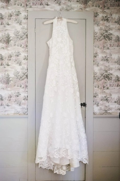 wedding gown -crested hen farm