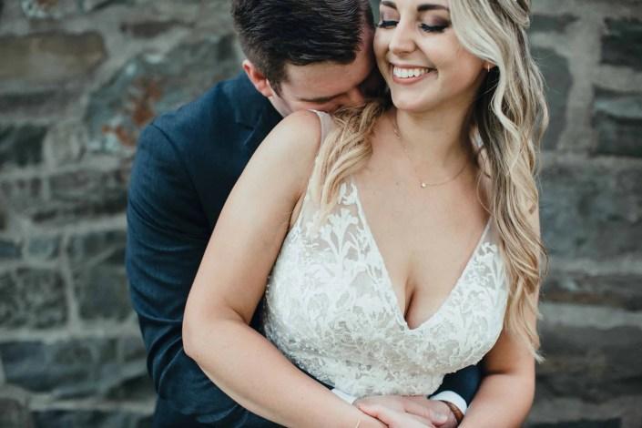 bride and groom wedding Kingston ny