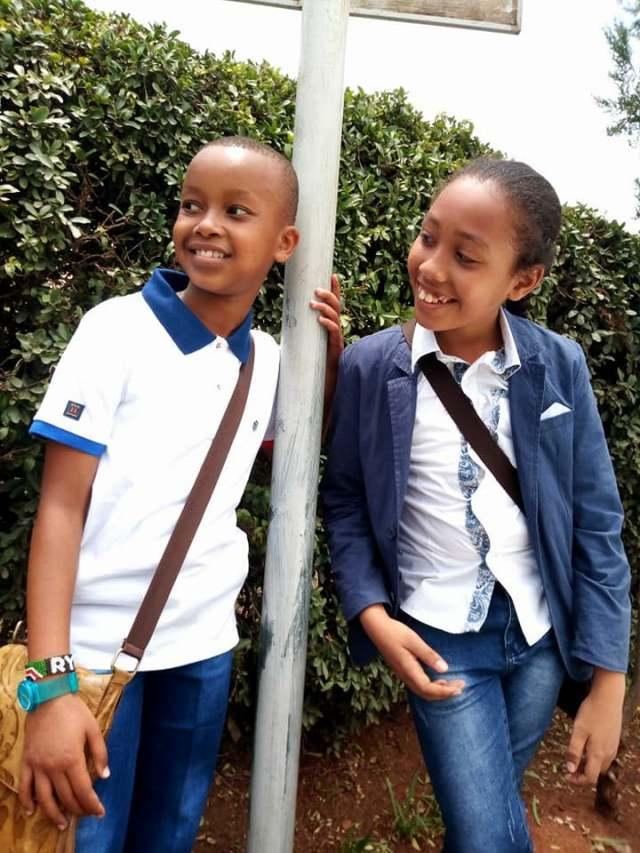 Ryan Mwenda sister