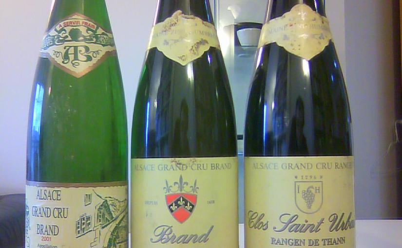 Four truly stunning bottles of Alsace Riesling and a blind-tasting challenge