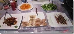 Mon Me's array of banh mi ingredients