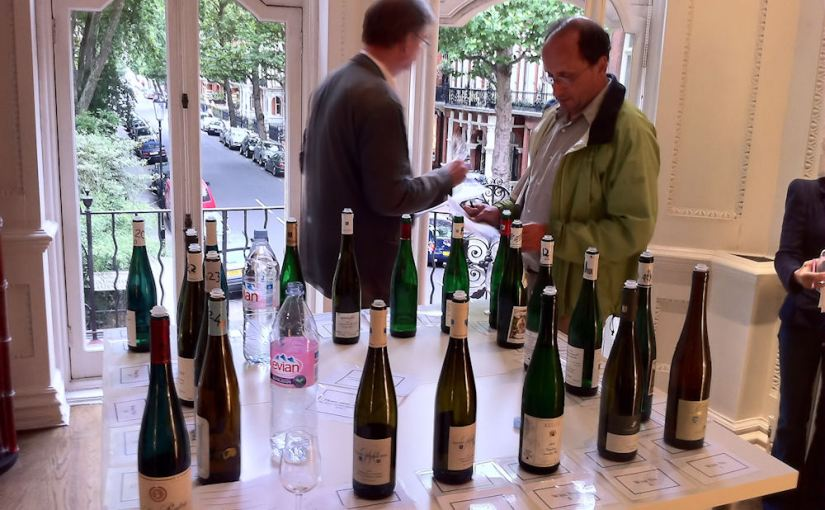 The Kabinetts at the Howard Ripley German Riesling tasting 2010
