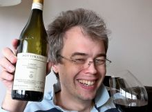 David modelling Langhe Nebbiolo 2009 from Sottimano