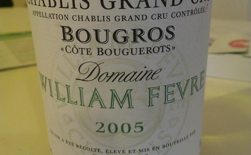 Fevre Chablis Grand Cru Bougros Cote Bouguerots 2005