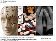 David Strange on the BBC concerning antipsychotics
