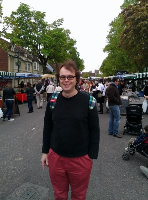 Davy at the Alresford Watercress Festival