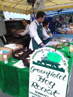 Greenfield hog roast