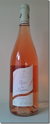 Chinon Rosé Saignée 2011 from Wilfrid Rousse