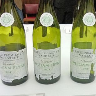 Three Domaine Fevre Chablis