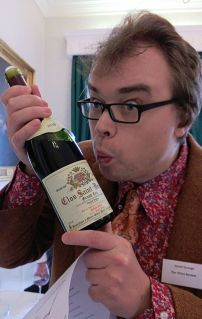 Jouan Clos Saint Denis being appreciated by Davy