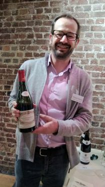 Seguin-Manuel Savigny-les-Beaune Premier Cru Lavieres- stylishly modelled by Thibaut Marion