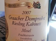 Willi Schaefer Riesling Kabinett 2007
