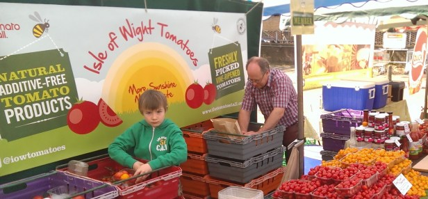 The Tomato Stall - Tomatoes from the Isle of Wight