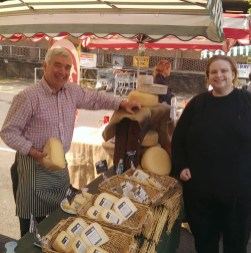 Mike Smales, Lyburn supremo, his cheeses, and The Editor