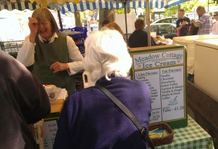 The Meadow Cottage stall always has a queue