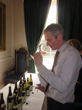 Lance Foyster tasting