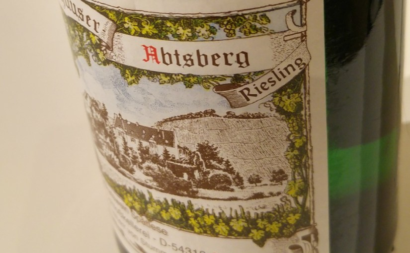 We are still online – this time with Riesling!