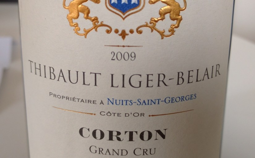 Christ, lovely Corton!