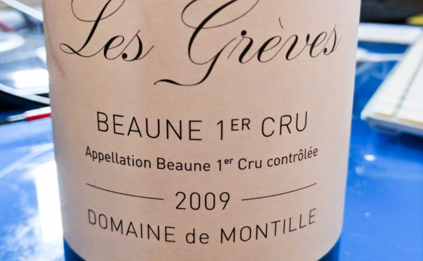 A bloody huge mouthful of Beaune