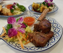 Spiced lamb chops Manow
